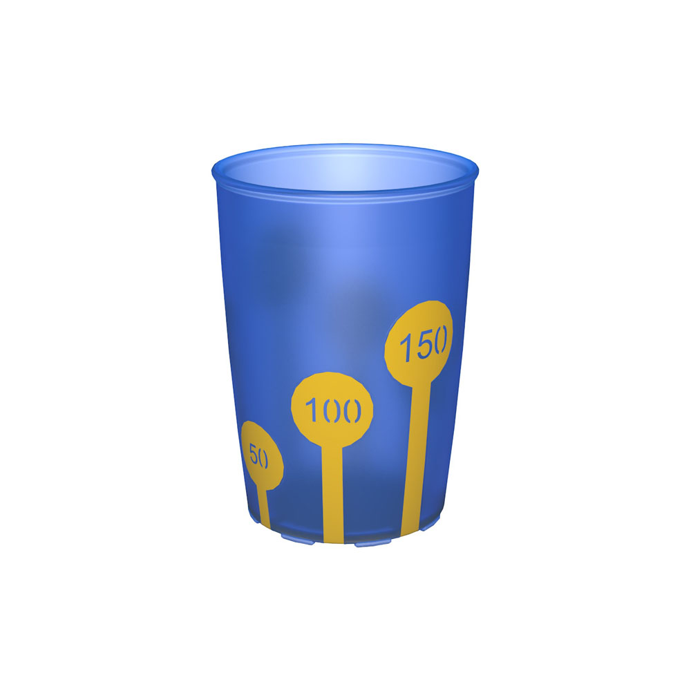 Non-Slip Cup with Scale 220 ml