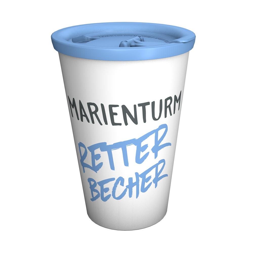 Coffee to go Marienturm Retter-Becher