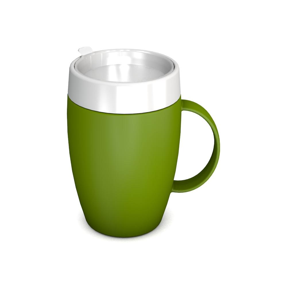 Mug with Internal Cone 140 ml with Discreet Drinking Lid