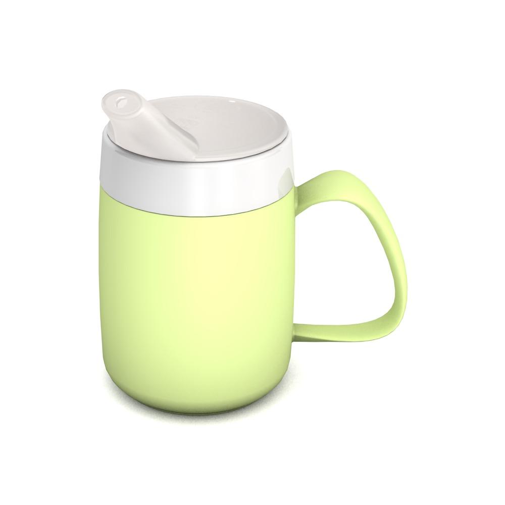 Becher mit Trink-Trick Glühwürmchen mit Schnabelaufsatz kleine Öffnung