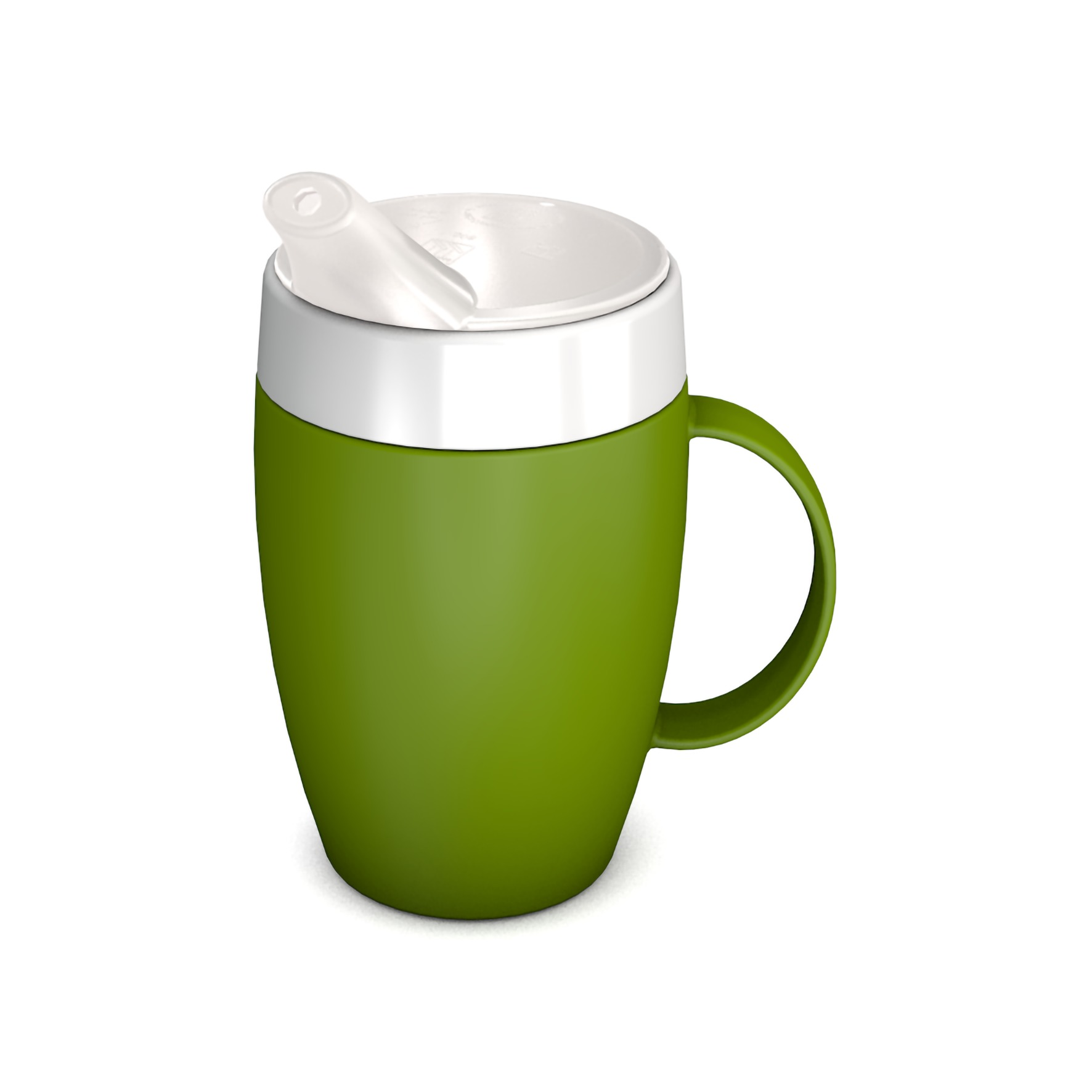 Mug with Internal Cone with Spouted Lid