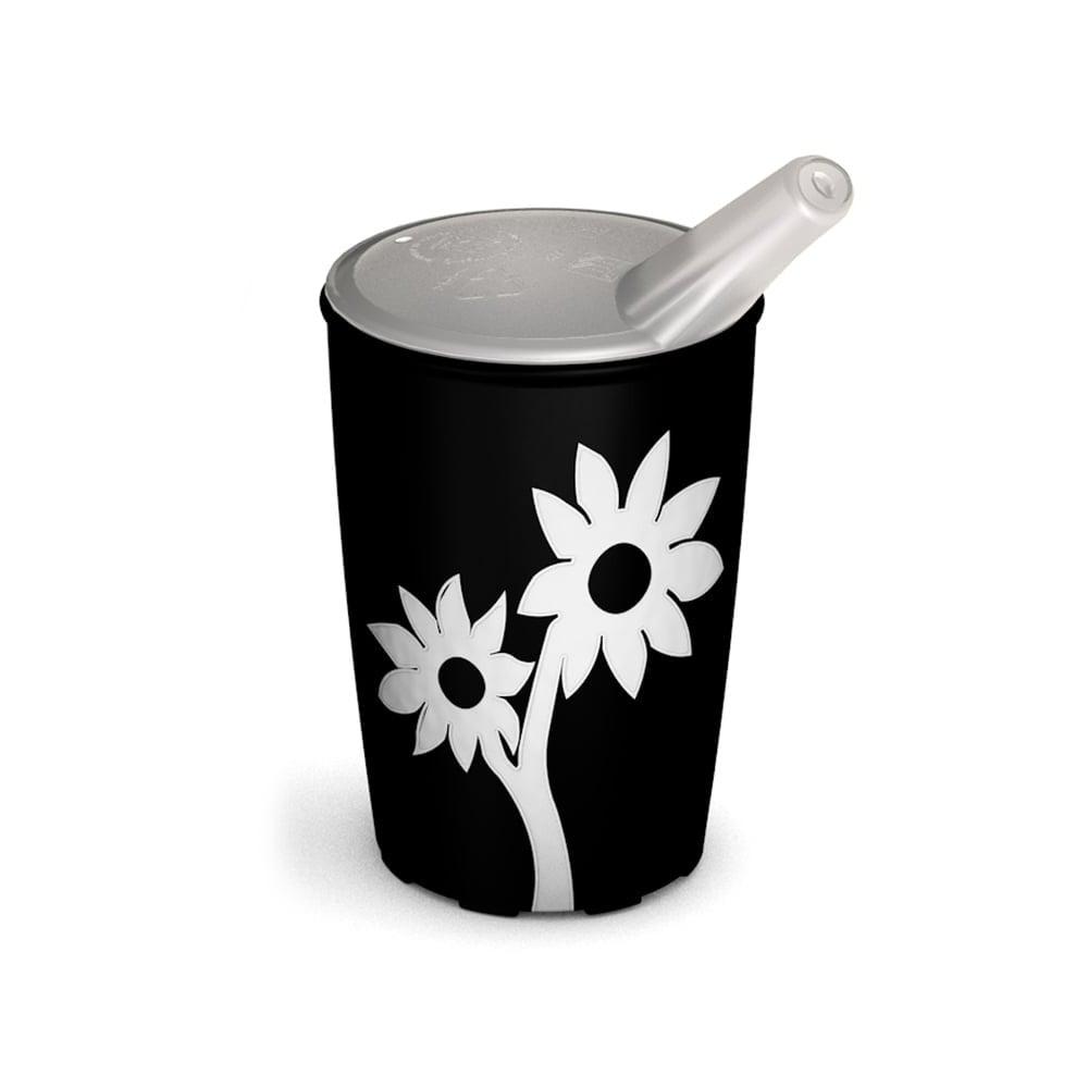Becher mit Antirutsch-Blume mit Schnabelaufsatz kleine Öffnung
