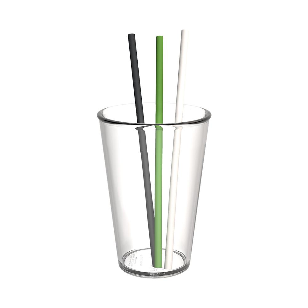 Organic Straw, set of 200