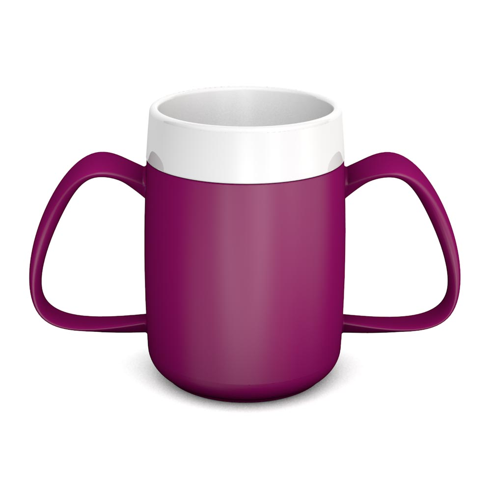Two Handled Mug with Internal Cone 140 ml