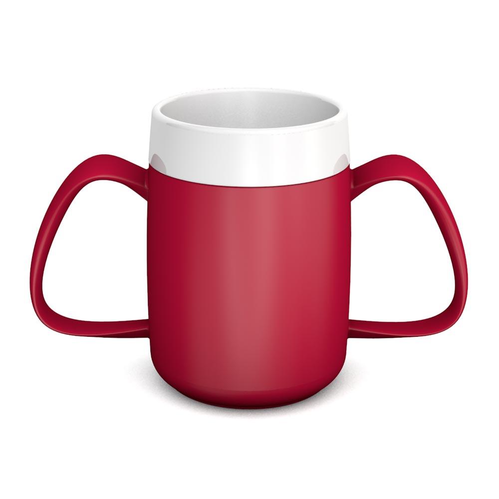 Two Handled Mug with Internal Cone