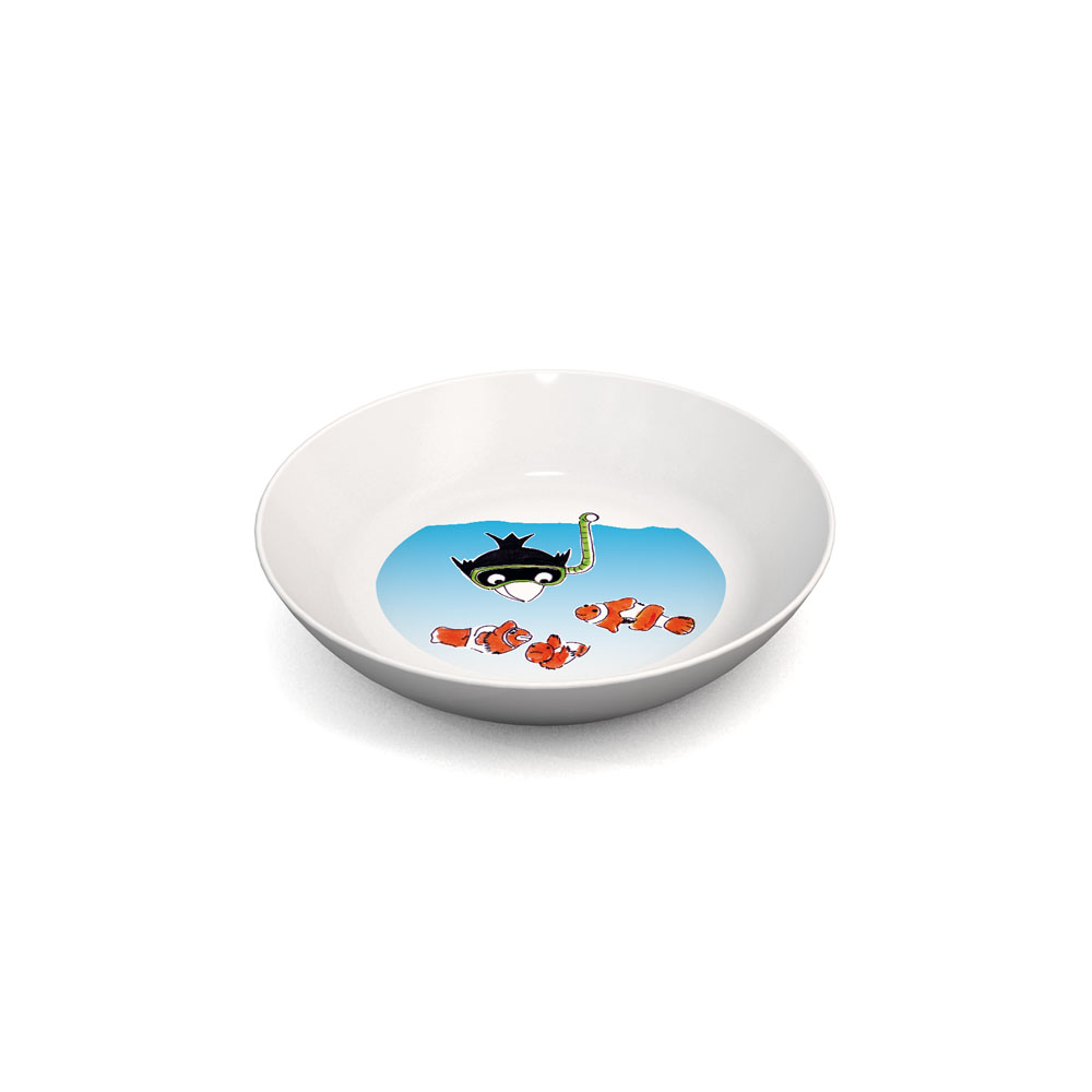 Dessert Plate with a children's design