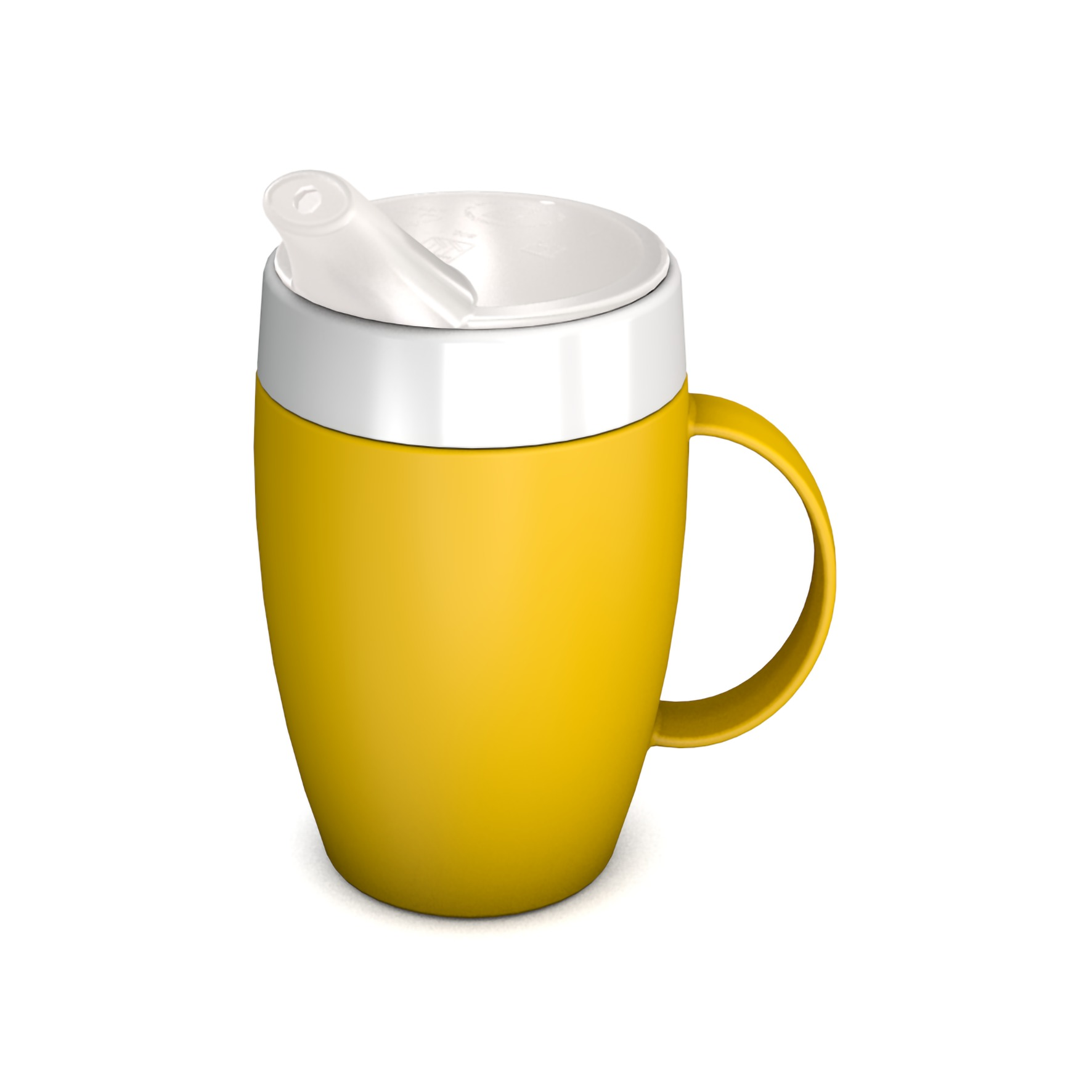 Mug with Internal Cone 140 ml with Spouted Lid