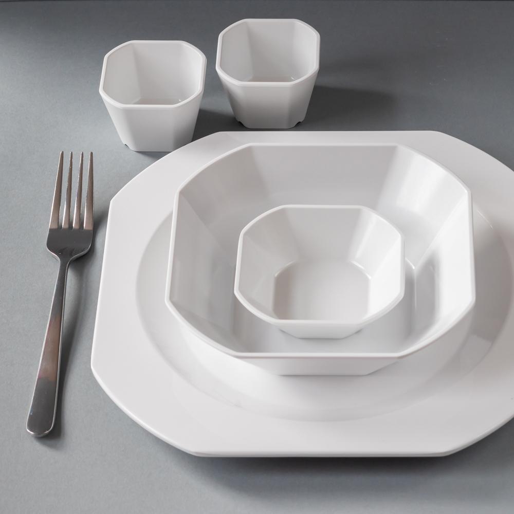 Bowls set of 3, square