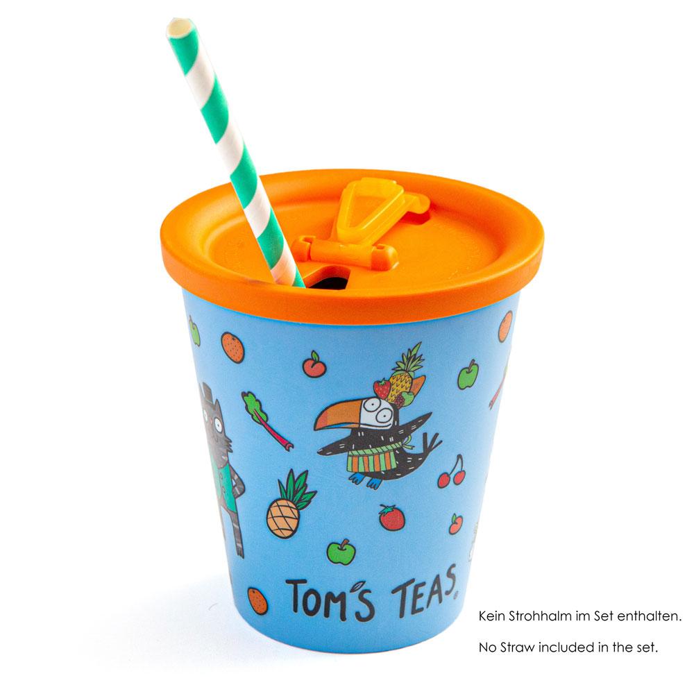 Tom's Teas Coffee to go Becher