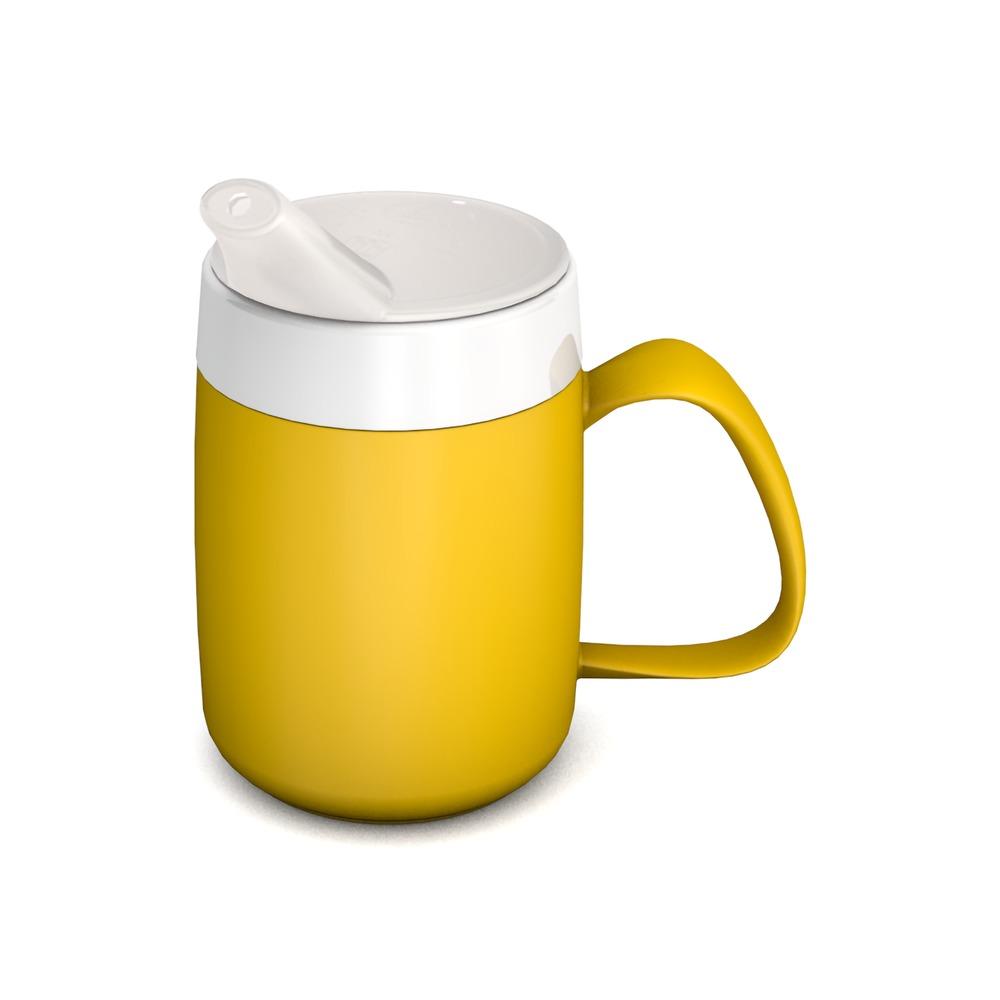 Becher mit Trink-Trick 140 ml, mit Schnabelaufsatz kleine Öffnung (ø 5 mm)